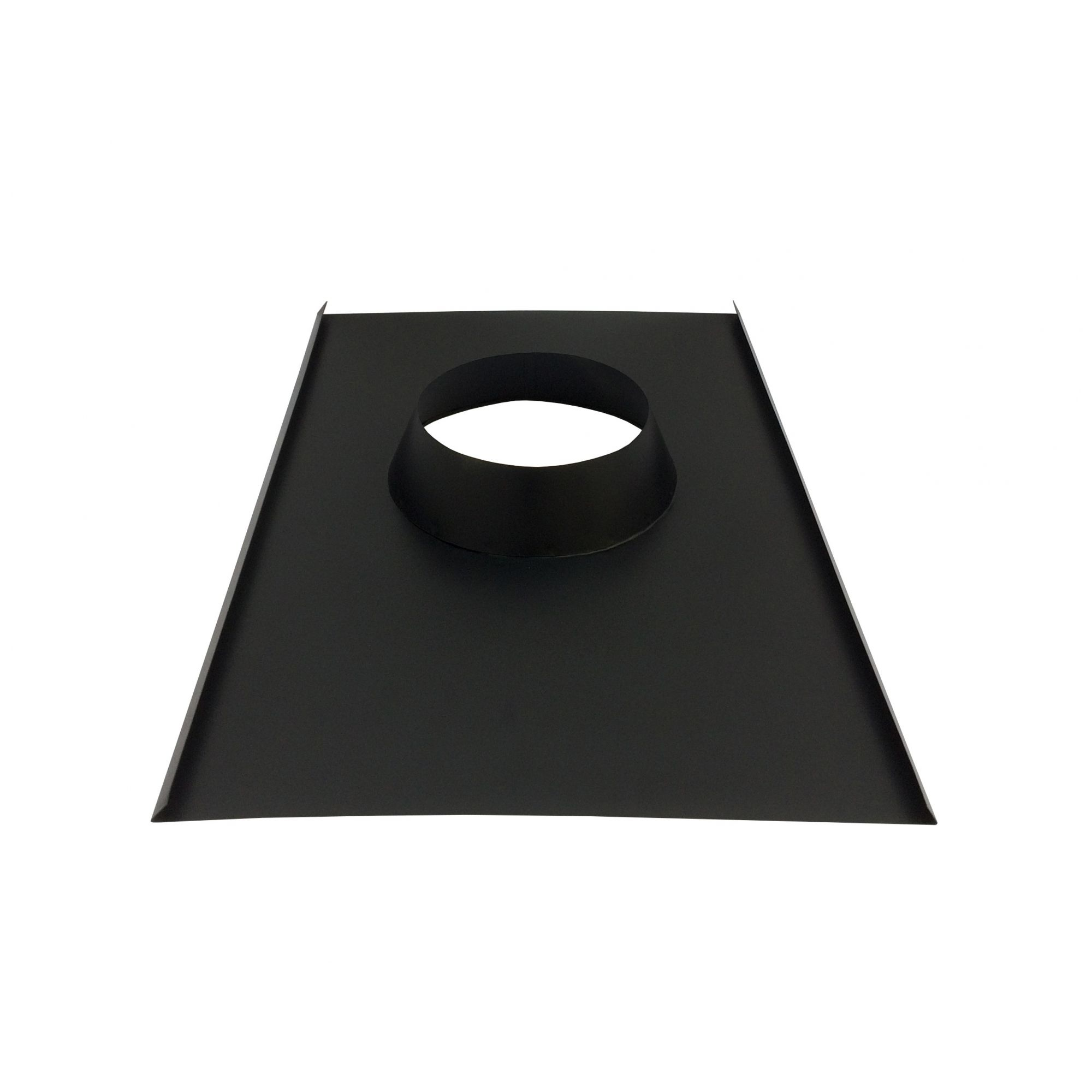 Chamine  de 200 mm para churrasqueira com acabamento de 150 mm para telhado  - Galvocalhas