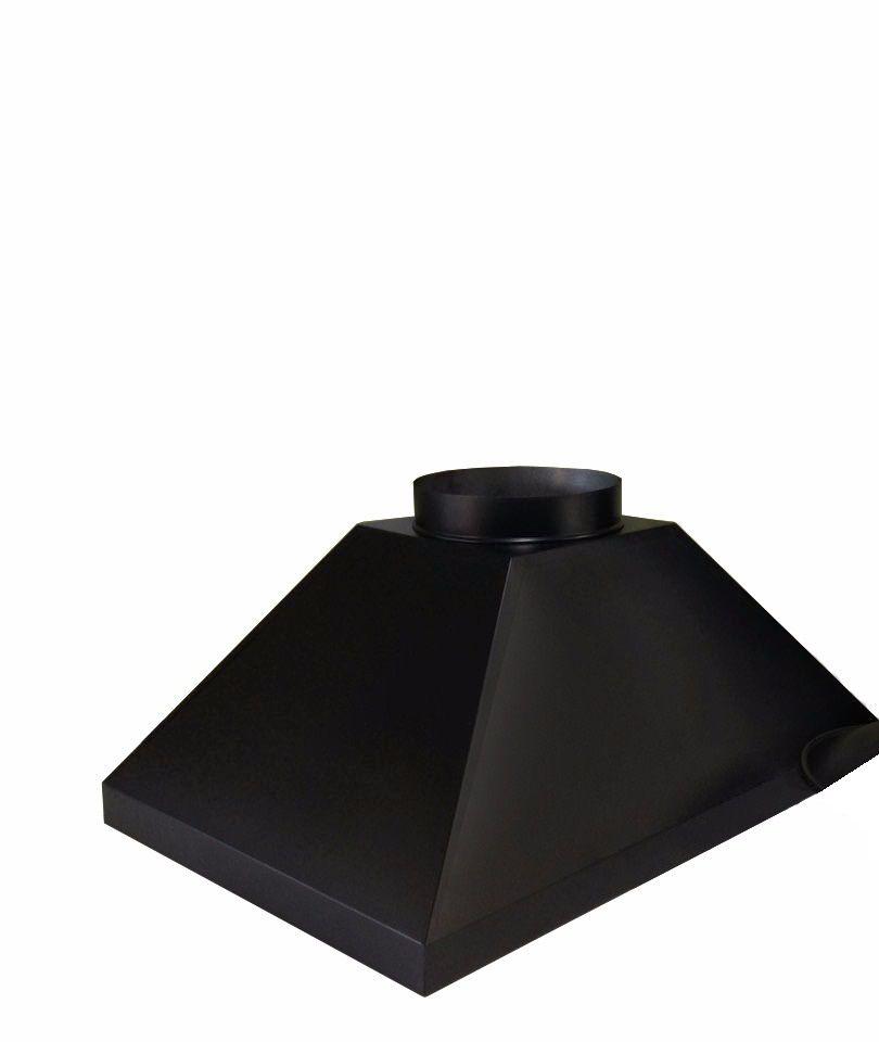 Coifa para churrasqueira com duto de 20cm  - Galvocalhas