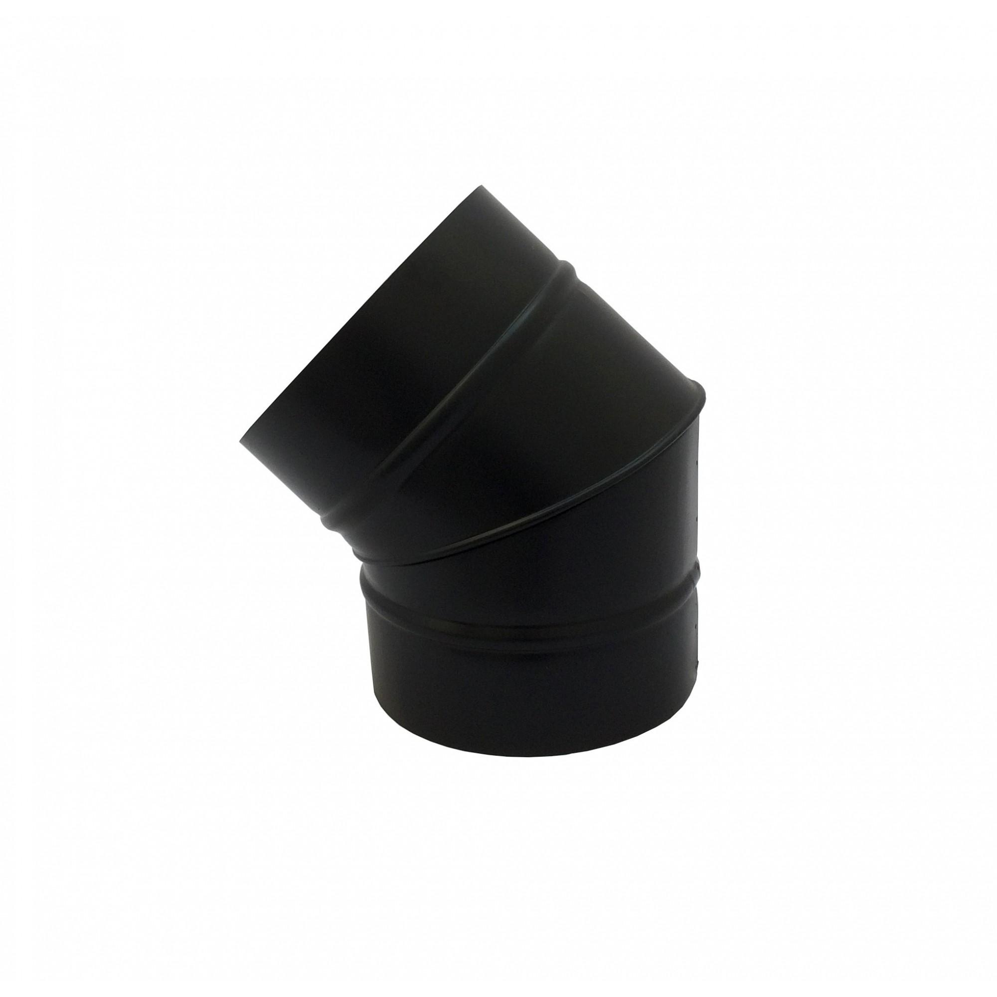 Coifas e duto preto de 200mm  - Galvocalhas