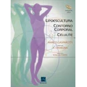 Livro - Lipoescultura, Contorno Corporal, Celulite com dvd