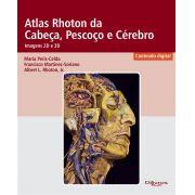 ATLAS RHOTON DA CABECA PESCOCO E CEREBRO IMAGEN 2D E 3D