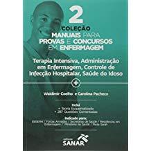 2 coleção manuais para provas e concursos em enfermagem