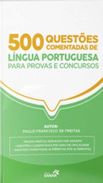 livro 500 Questões de Língua Portuguesa