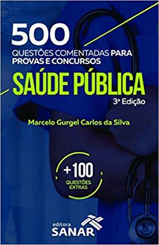 livro500 Questões  - Saúde Pública 3 edição.