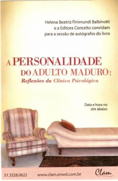 A Personalidade do Adulto Maduro