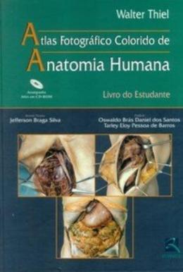 ATLAS FOTOGRAFICO COLORIDO DE ANATOMIA HUMANA LIVRO DO ESTUDANTE