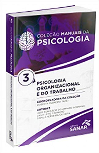 livro Coleção manuais da psicologia 3