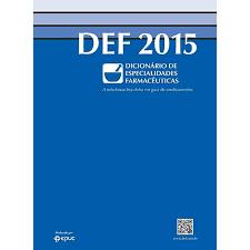DEF 2015. Dicionário de Especialidades Farmacêuticas POCKET