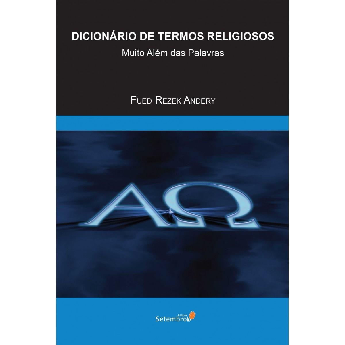 DICIONÁRIOS DE TERMOS RELIGIOSOS