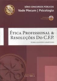livro Ética Profissional E Resoluções Do C. F. P. legislaçao & questoes gabaritadas