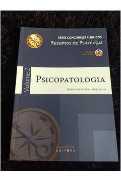 livro Psicopatologia - vol. 2 - teoria e questões gabaritadas