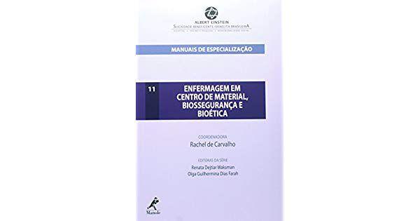 MANUAIS DE ESPECIALIZAÇÃO ENFERMAGEM EM CENTRO DE MATERIA