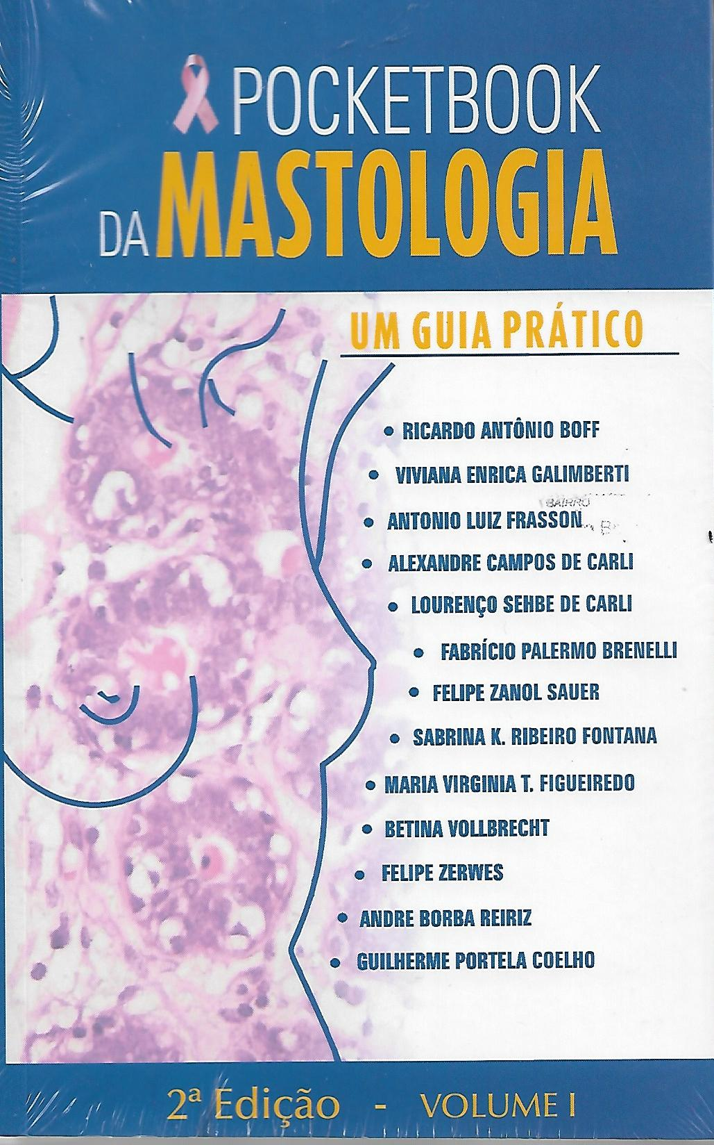 POCKETBOOK DA MASTOLOGIA - VOLUME 1 E 2 - ED. 2019