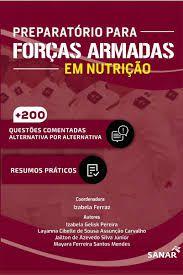 Livro - Preparatório para Forças Armadas em Nutrição
