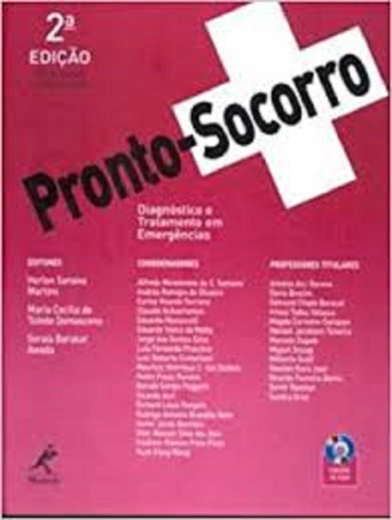 LIVRO PRONTO-SOCORRO DIAGNOSTICO E TRATAMENTO DE EMERGENCIAS 2ED