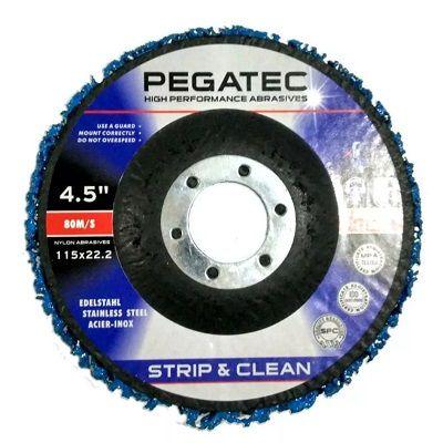 04 Disco Flap Desbaste 4 1.2 Strip & Clean Pegatec Remover