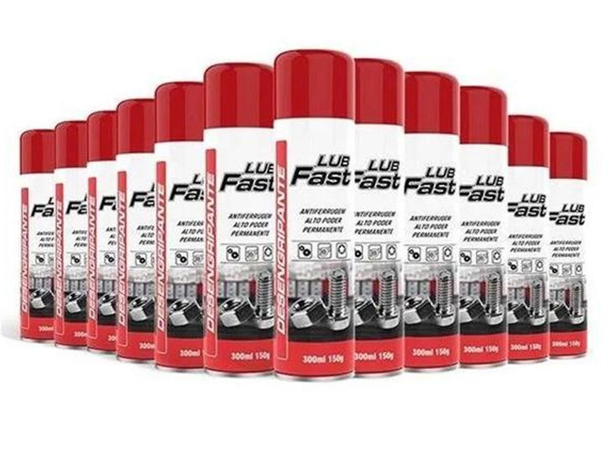 10 Spray Desengripante Óleo Lubrificante Atacado Multiuso