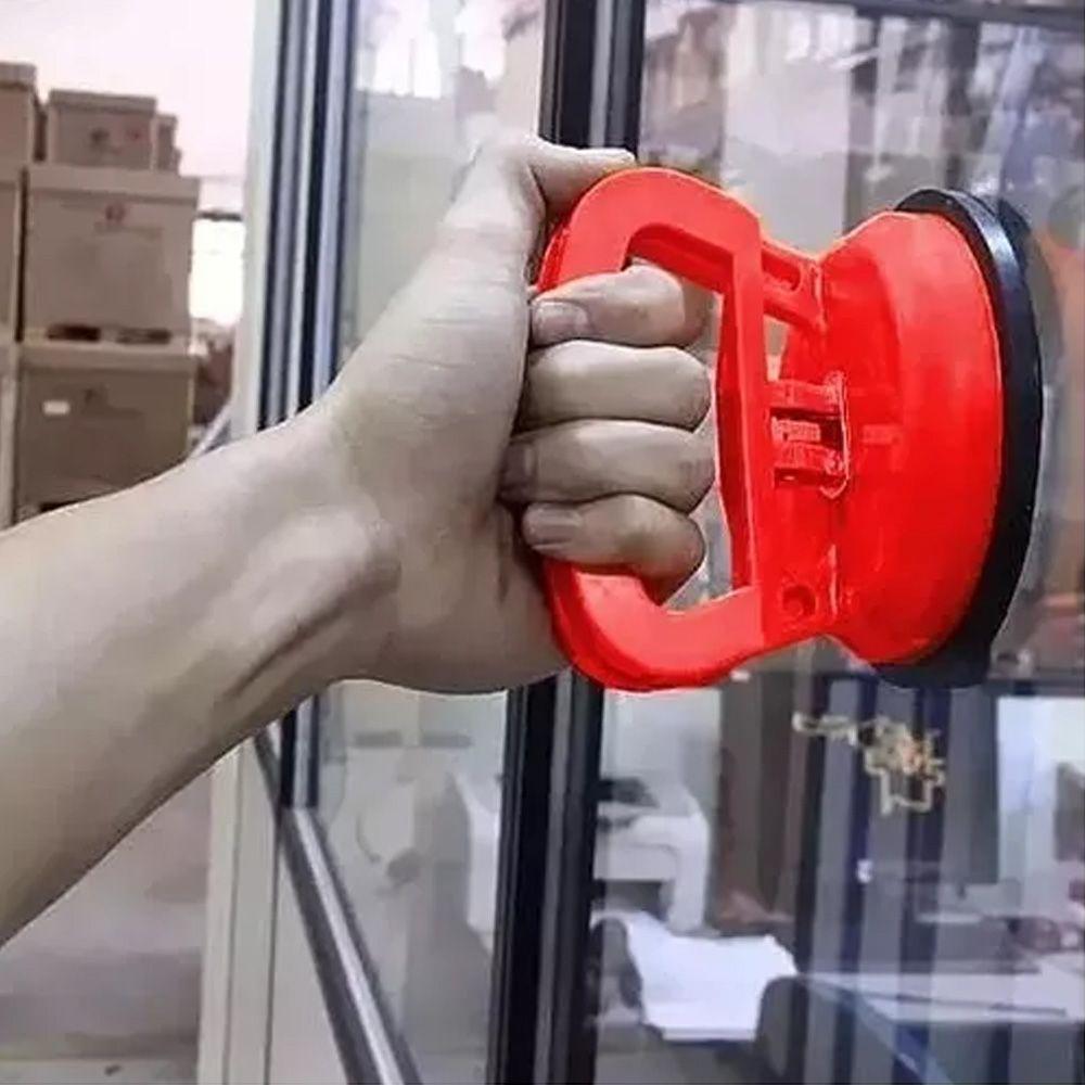 10 Ventosa Simples Segura Firme 40kg Vidros Mármores E Pisos