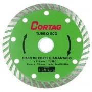 01 Disco Diamantado Turbo Eco 110mmx20mm Cortag Oferta
