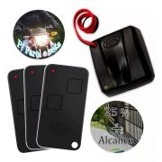 1 Tx Car Sensor Farol Carro Rossi 433mhz + 3 Controle Rossi
