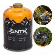 2 Gás Maxgas 450g Nautika 75% Iso - Butano Camping