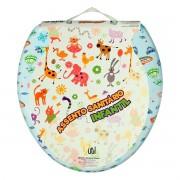 Assento De Plástico P/ Vaso Sanitário Infantil