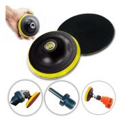 Base De Lixa Disco C/ Velcro 125 X M14 P/ Esmerilhadeira