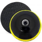 Base Lixas Disco C/ Velcro 150 X M14 P/ Esmerilhadeira