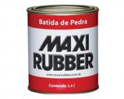 Batida De Pedra Preto 3,6l Emborracha Maxi Rubber
