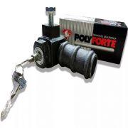 Cadeado De Solo Externo Porta De Aço Polyforte Art 011/t