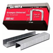 Caixa De Grampo Para Grampeador 8mm Aço 1000 Unidades Mtx