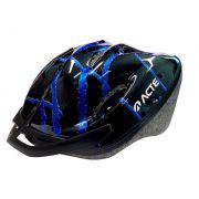 Capacete para bike Acte A51 - Azul - Adulto - Regulável