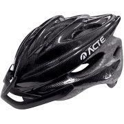 Capacete para bike Acte A52 - Preto - Adulto - Regulável