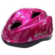 Capacete Para Bike Acte Kids A50 - Rosa