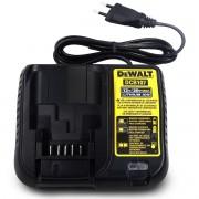 Carregador Bateria Lition-ion 12v Bivolt Dcb107 Dewalt