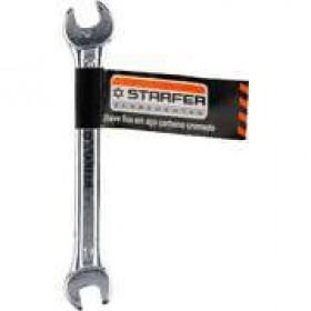 Chave fixa forte reforçado 14x15mm starfer boca