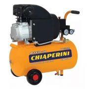 Compressor 7.6 Pés Chaperini Motocompressor Ar 21 L + Brinde