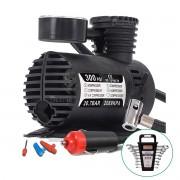 Compressor de Ar + Jogo Chave Combinada 6 à 17mm 8 Pçs