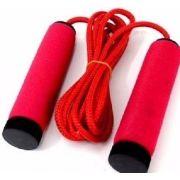 Corda De Pular Exercício Funcional Crossfit Academia 3 Mts Vermelha