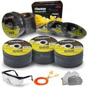 Disco De Corte 4 1/2 Aço/inox 115mm Axt 100 Pçs C/ Brindes