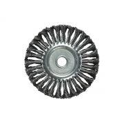 Escova circular torcida Aço torcida Carbono 150mm mtx