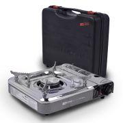 Fogareiro horizontal NTK Flex Fuel compatível com cartucho de gás e botijão de gás e com acendedor automático Cheff