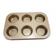 Forma de Metal para 6 Cupcakes - 123 Util