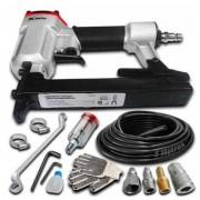 Grampeador Tapeçaria P/compressor 60 A 110psi + Acessórios
