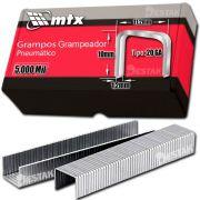 Grampo Caixa De 5mil Peças 20ga 10mm Aço Carbono Pneumático 20GA