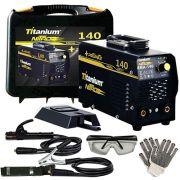 Inversora De Solda Bivolt 140a Titanium Nitro