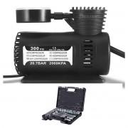 JG. Soquetes Encaixe 1/2 8 A 32mm 24 Pçs + Compressor de Ar