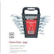 Jogo de Chave Fixa 6 A 17 Cromo Vanádio 152319 Mtx