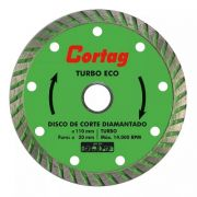 Kit 05 Disco Diamantado Turbo Eco 110mmx20mm Cortag Oferta
