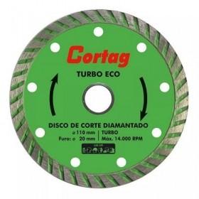 Kit 05 Disco Diamantado Turbo Eco 110mmx20mm Cortag Oferta